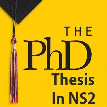 Neural network phd thesis